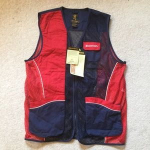 Browning Mesh Vest New With Tags